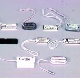 Cartellini segnaprezzi personalizzati in plastica rigida - 2di 2