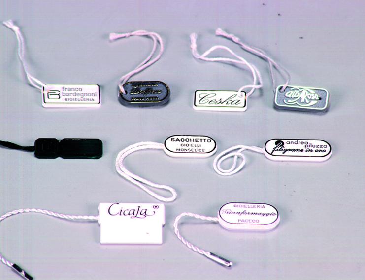 Cartellini segnaprezzi personalizzati in plastica rigida - 2 di 2