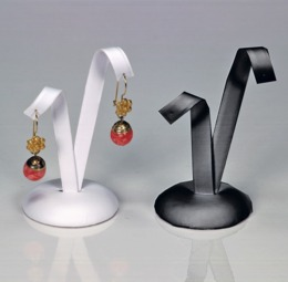 Espositori similpelle per orecchini - 7 di 8