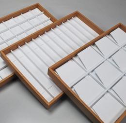 Vassoi per gioielleria da realizzare con interni e materiali a richiesta - 1di 5