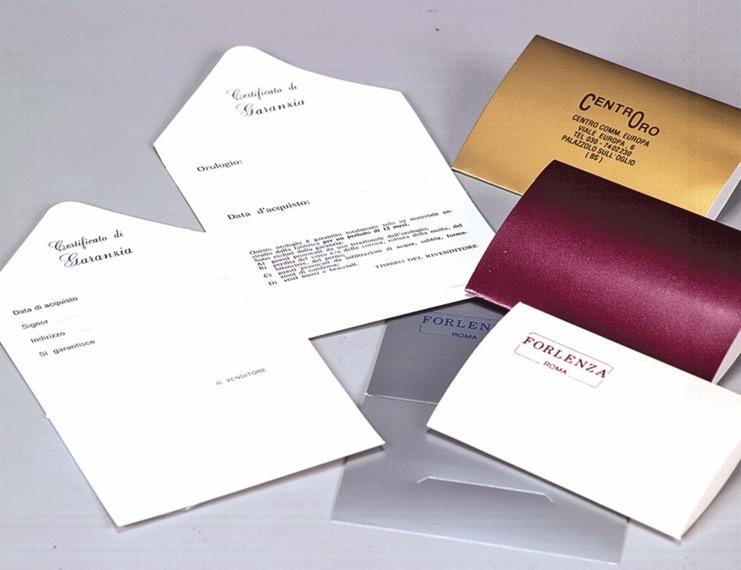 Garanzie per preziosi SIMPLEX - 1 di 1