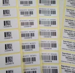 Etichette adesive stampa trasferimento termico - 1 di 4