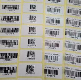 Etichette adesive stampa trasferimento termico - 4 di 4