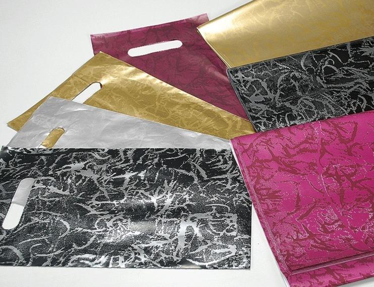 Buste perlate colorate con manico a fagiolo e carta coordinata - 1 di 1