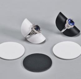 Espositori similpelle per anelli - 1 di 8