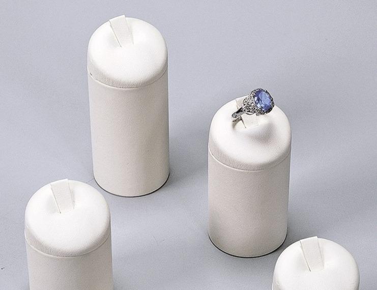 Espositori similpelle per anelli - 4 di 8