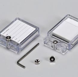 Portapietra plexiglass - 1di 1