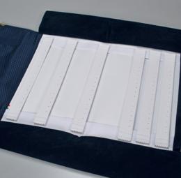 Rotoli tessuto blu - 2 di 13