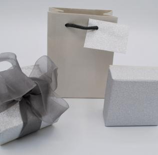 Astucci Bormio Argento con borsa coordinata - 1 di 15