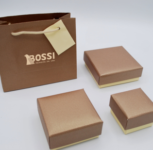 Serie Aosta astucci per gioielli con sacchetto coordinato - 1di 1