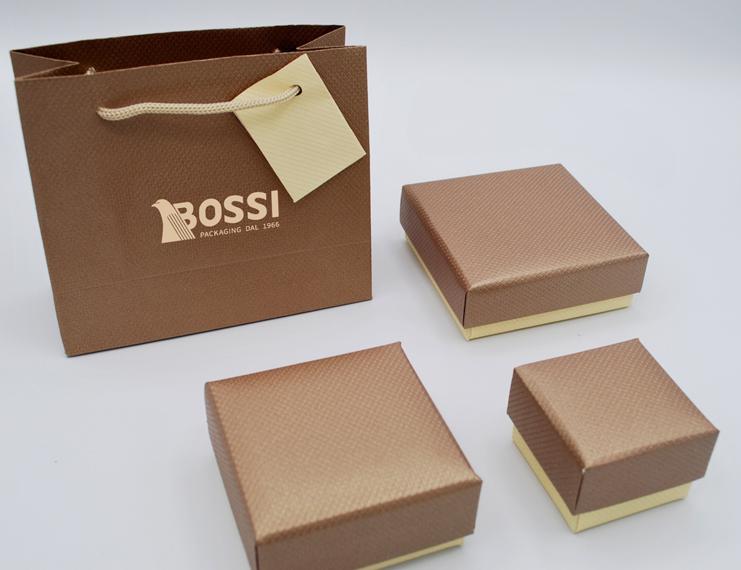 Serie Aosta astucci per gioielli con sacchetto coordinato - 1 di 1