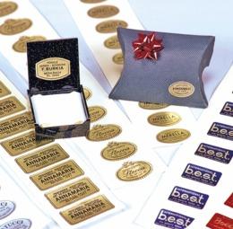 Etichette adesive per gioielleria - 1di 1