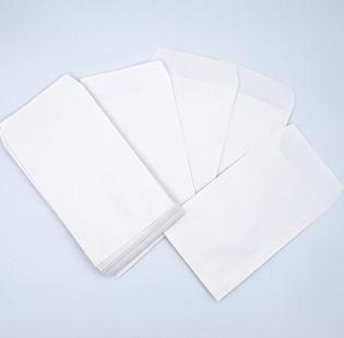 Buste per riparazioni cm 10 x 15 anonime in carta Kraft Bianca gr 80