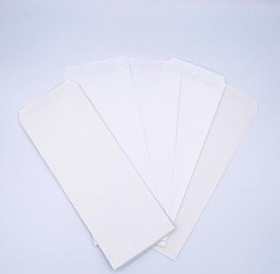 Buste per riparazioni cm 9,5 x 23 anonime in carta Kraft Bianca gr 80