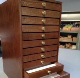 Cassettiera in legno 12 cassetti - 2di 11