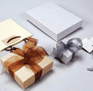 Serie Bormio astucci per gioielli con sacchetto coordinato - 1di 1