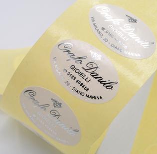 Etichette Adesive stampa a Caldo - 1di 4