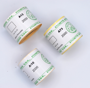 Segnaprezzi in carta adesiva bianca removibile - 1 di 1