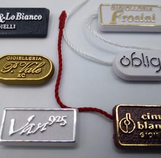 Cartellini segnaprezzi personalizzati in plastica rigida - 1di 6