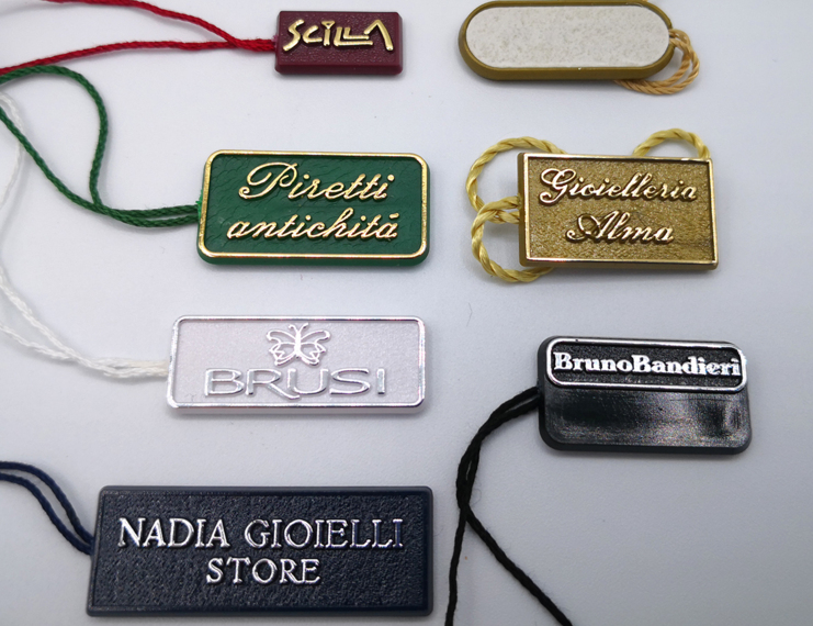 Cartellini segnaprezzi personalizzati in plastica rigida - 2 di 6