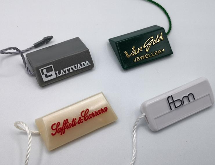 Cartellini segnaprezzi personalizzati in plastica rigida - 3 di 6