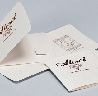 Biglietti di accompagnamento a libro personalizzati con stampa a caldo - 1di 1