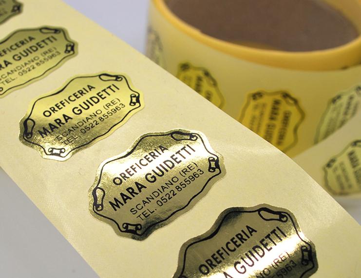 Etichette Adesive stampa tipografica - 1 di 4