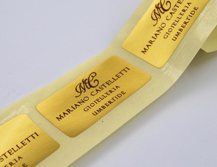 Etichette Adesive stampa tipografica - 3 di 4