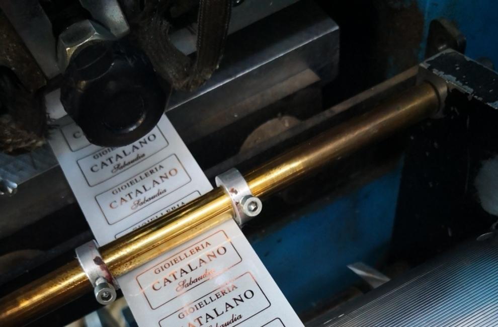 PARTICOLARI DELLE NOSTRE REALIZZAZIONI di Etichette adesive personalizzate - Progetto 10 di 9